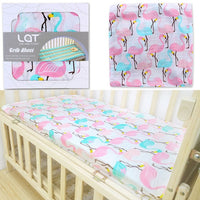 100% Cotton Crib Fitted Sheet 130*70 cm
