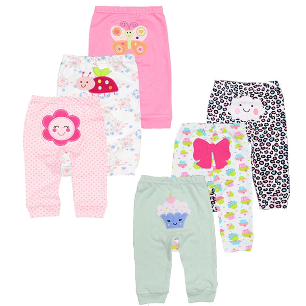 3pcs/Set Cotton Baby/ Toddler Leggings/Pants