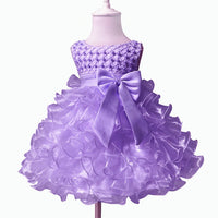 Baby Girl/Kids Pearl Princess Baptism/ Party Dress
