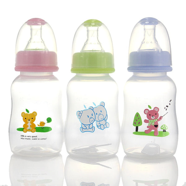 Flatulence Plastic Baby Feeding Bottle 150 ml