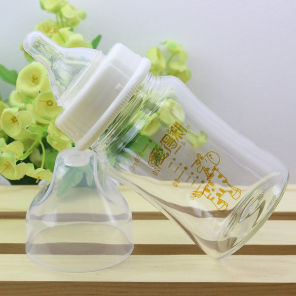 Elegant Glass Bottle  150 ml 180 ml 240 ml 300 ml Wide Caliber