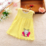 Baby Girl Summer Dress, Cotton, Sleeveless