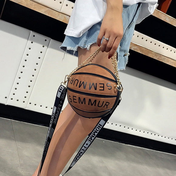 LOVE & BASKETBALL | CROSS-BODY BASKETBALL FASHION CLUTCH