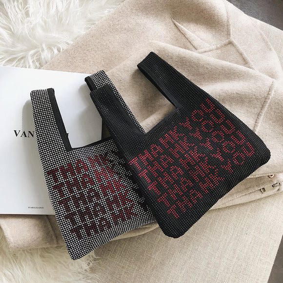 THANK YOU MA'AM | SEQUINS SHOULDER HANDBAGS