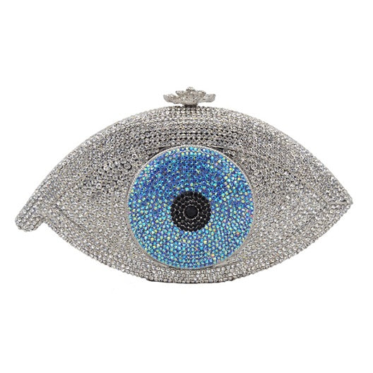 ALL EYES ON HER | LUXURY SWARVOSKI EYE CLUTCH