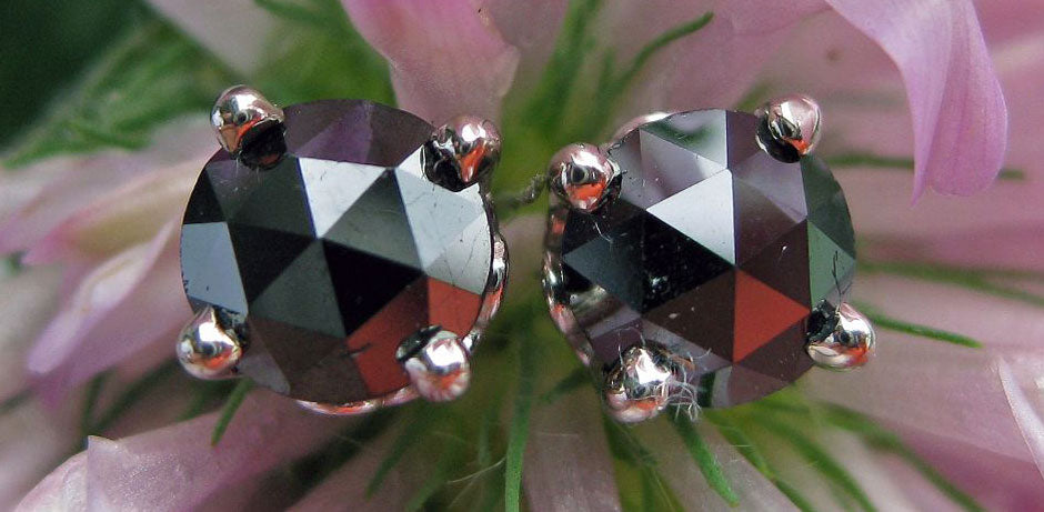 Rosecut Fancy Black Diamonds