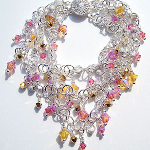 Crystal Confetti Sunrise Bracelet from Caribbean Collection by Arpaia Fine Jewelry