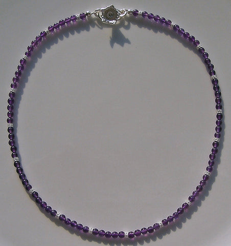 "Arpaia ""Violets"" amethyst necklace"
