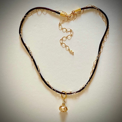 "Arpaia Jewelry ""Sunblush"" Necklace"