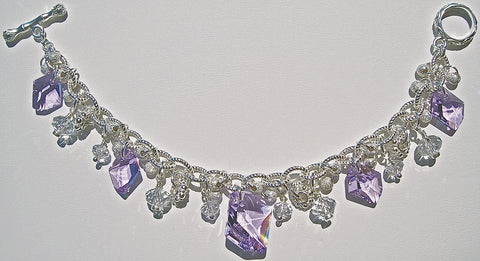 Violet Horizon one of a kind Arpaia Bracelet