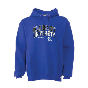 Alumni Russell Unisex Fleece Hood, Royal