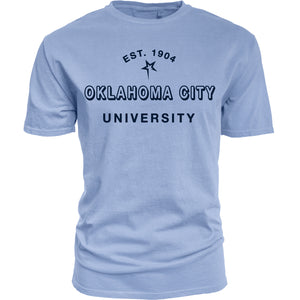 Blue 84 Tin Cup Dyed Ringspun Tee, Cornflower Blue