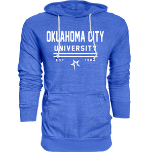 Blue 84 Tri-Blend Hooded Tee, Royal