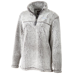 Boxercraft 1/4 Zip Sherpa, Frosty Grey