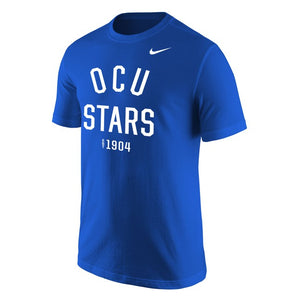 Nike Men's Core Cotton Short Sleeve Tee, Royal