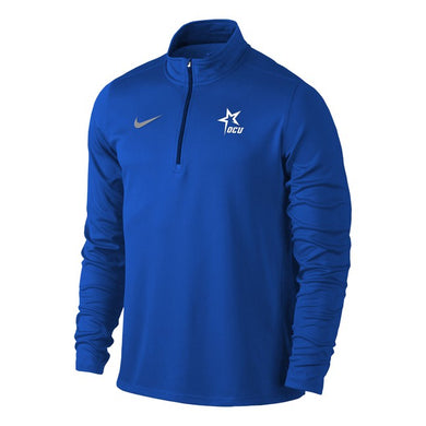 Nike Men's Solid Element 1/4 Zip Top, Royal