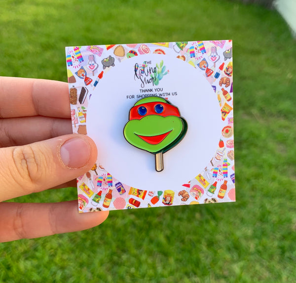 NINJA TURTLES PALETA PIN