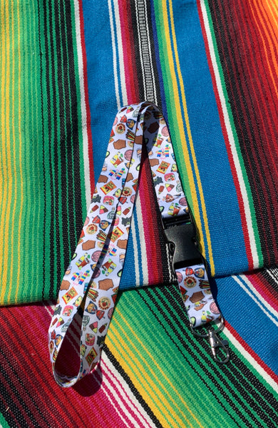 DESIGN MIX  LANYARD W CLIP