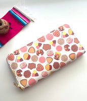 PAN DULCE LONG ZIPPER WALLET