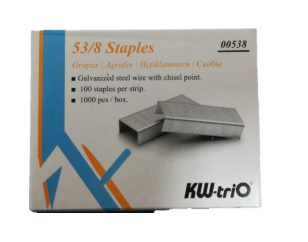 Grapa KW-Trio 53/8 para engrapadora de pared