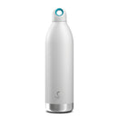 Bevu® DUO Botella Térmica de Acero Inoxidable Blanca 750ml / 25oz