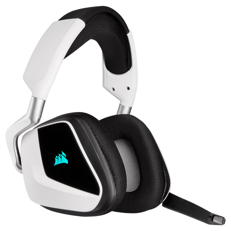 Corsair Headset RGB Elite Inalámbrico Blanco