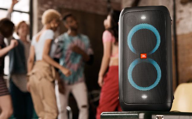 Parlante JBL PartyBox 100 Bluetooth