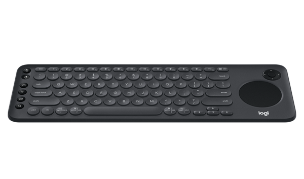 Teclado Logitech Bluetooth TV, TouchPad integrado K600
