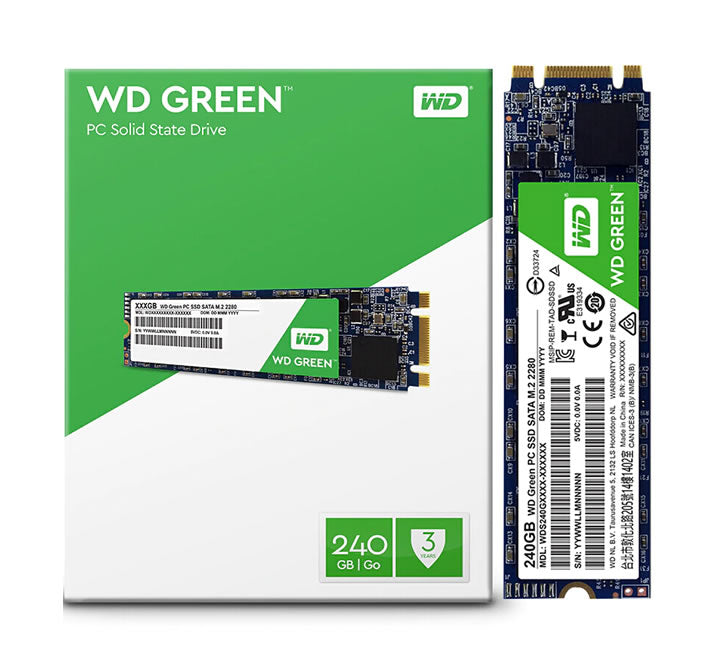 Estado Solido M.2 Western Digital Grenn 240GB 2280