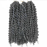 WIGNEE Hair Extensions For Black Women Ombre Mixed Color-4
