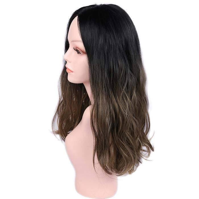 wignee center part  Synthetic hair  non lace wig 16 inches 30# Water Wave Daily wig