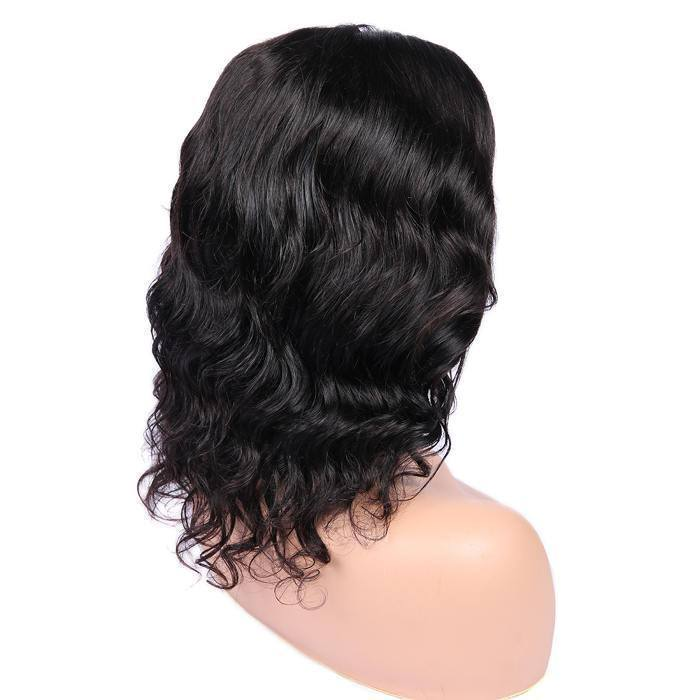 Wignee 4*4 lace closure wig loose wave human hair wig 150%density lace part wig