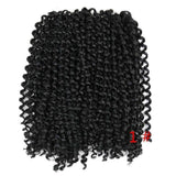 WIGNEE Hair Extensions For Black Women Ombre Mixed Color-2