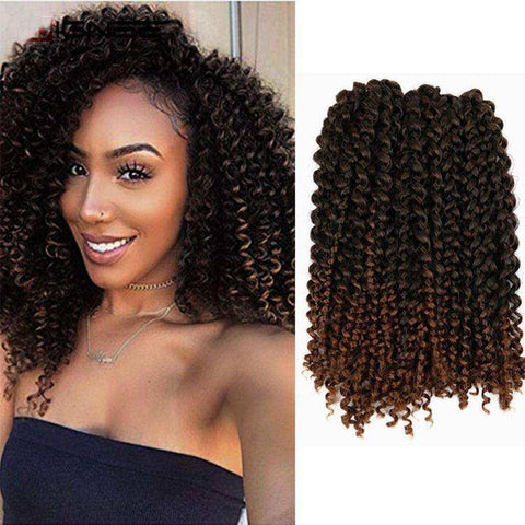 WIGNEE Hair Extensions For Black Women Ombre Mixed Color