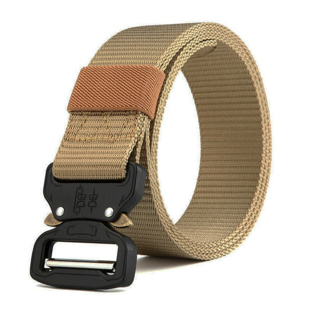 Tactical Belt New Nylon Army Belt Men Molle Military SWAT Combat Belts Knock Off Emergency Survival Belt Tactical Gear Dropship-Felligo
