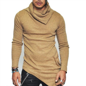Men's High-necked Sweaters-Felligo