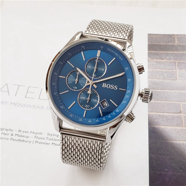 2019 Boss Watch Luxury Mens watches quartz stopwatch-Felligo