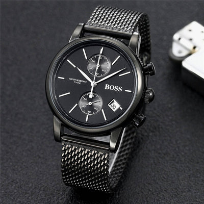 BOSS watch luxury fashtion mens watches 40mm quartz stopwatch-Felligo