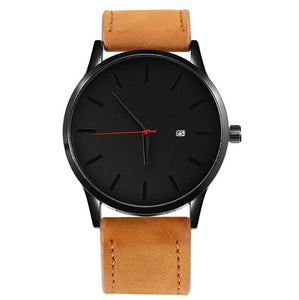 SOXY Men's Watch Fashion Watch For Men Relojes Hombre 2019 Top Brand Luxury Watch Men Sport Watches Leather relogio masculino-Felligo