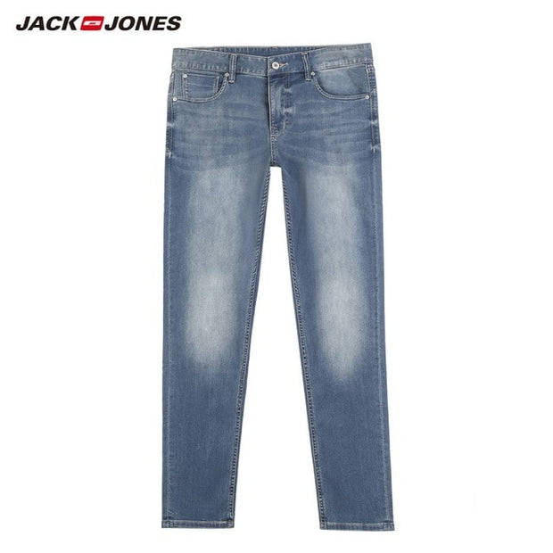 JackJones Men's Stretch Jeans men Elastic Cotton Denim Pants-Felligo