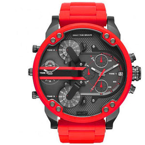 Factory Direct Selling DZ Watch Men Large Dial Double Inserts Red Watch-Felligo
