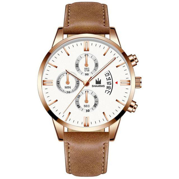 Relogio Masculino Quartz business wristwatch 2019-Felligo