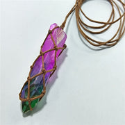 Tree of Life Crystal Stone Necklace