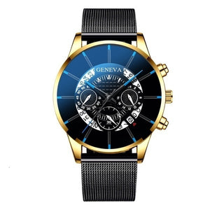 GENEVA Men Watches TOP Brand Luxury Fashion Business-Felligo