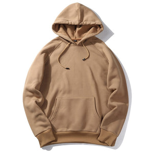 2019 Autumn And Winter New Style MEN'S Wear Solid Color Hoodie Men's Popular Brand Hoodie Logo Customizable Printed Office Versi-Felligo