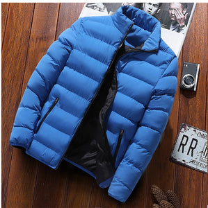 Breathable Jacket For Men & Women Autumn Winter New Solid Color Self-Cultivation Tops Down-Felligo