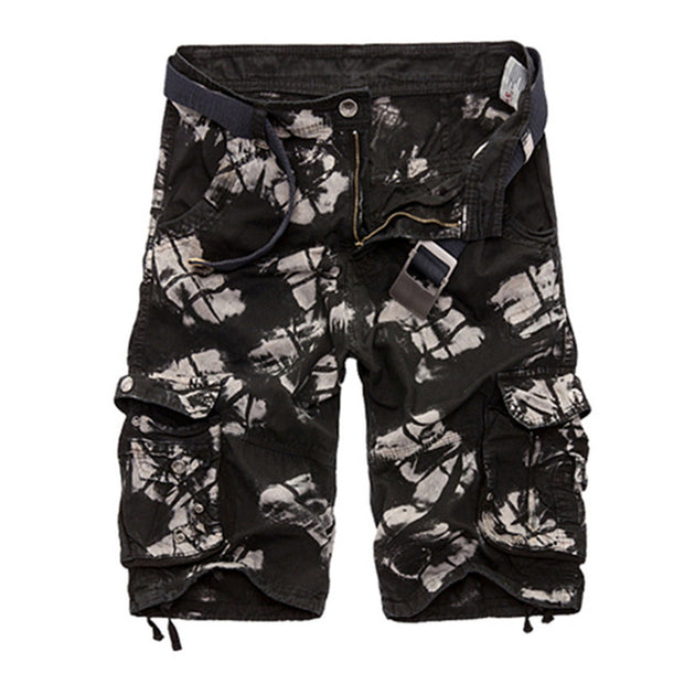 Cargo Shorts Men Cool Camouflage Summer Hot Sale Cotton Casual Men Short Pants-Felligo