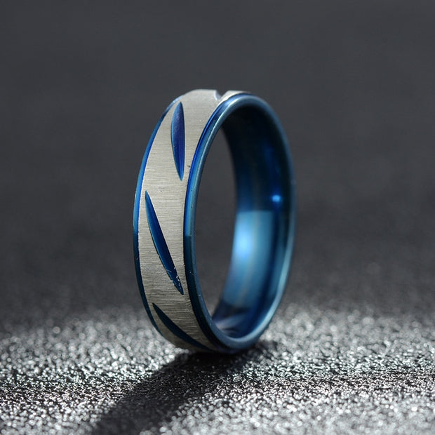 Titanium Steel Men's Ring-Felligo