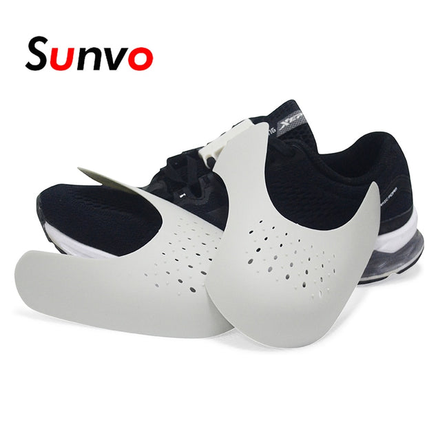 Sunvo Shoes Shields for Sneaker Anti Crease Wrinkled Fold Shoe Support Toe Cap Sport Ball Shoe Head Stretcher Dropshipping-Felligo
