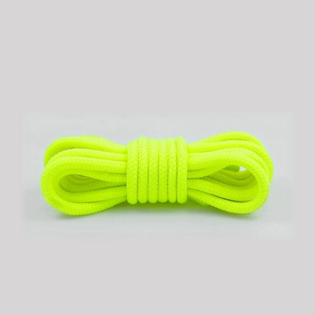 1Pair Round Shoelaces Polyester Solid Classic Martin Boot Shoelace Casual Sports Boots shoes Lace 90cm/120cm/150cm 21 Colors-Felligo